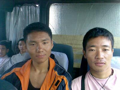 Diyesh & Norbu, brave future Gorkha!