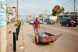 Photo: The streets of Brazzaville