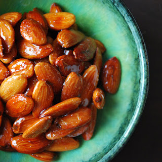 Tangy Persian Candied Almonds Roasted with Lime