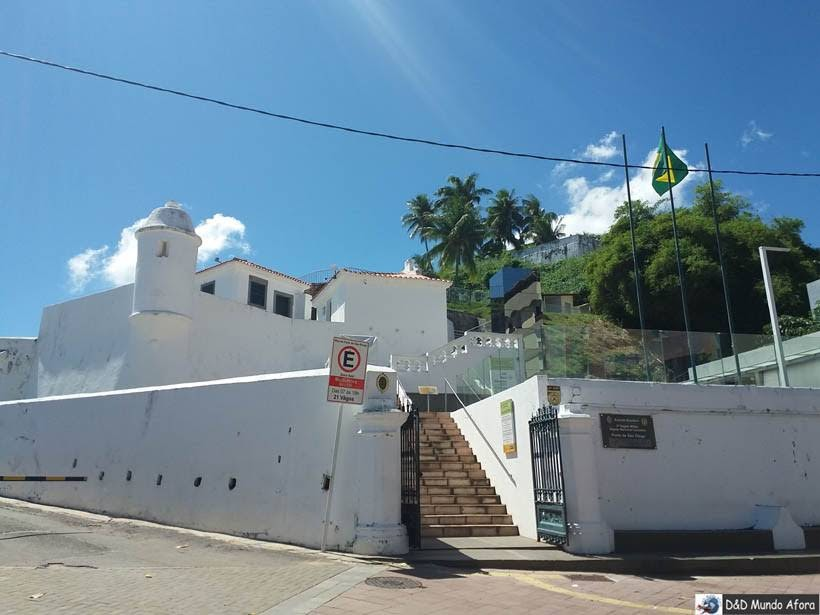 O que fazer em Salvador (Bahia) - Forte São Diogo