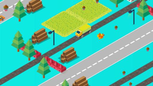 Télécharger Crossy Road: Animaux mignons mod apk screenshots 2