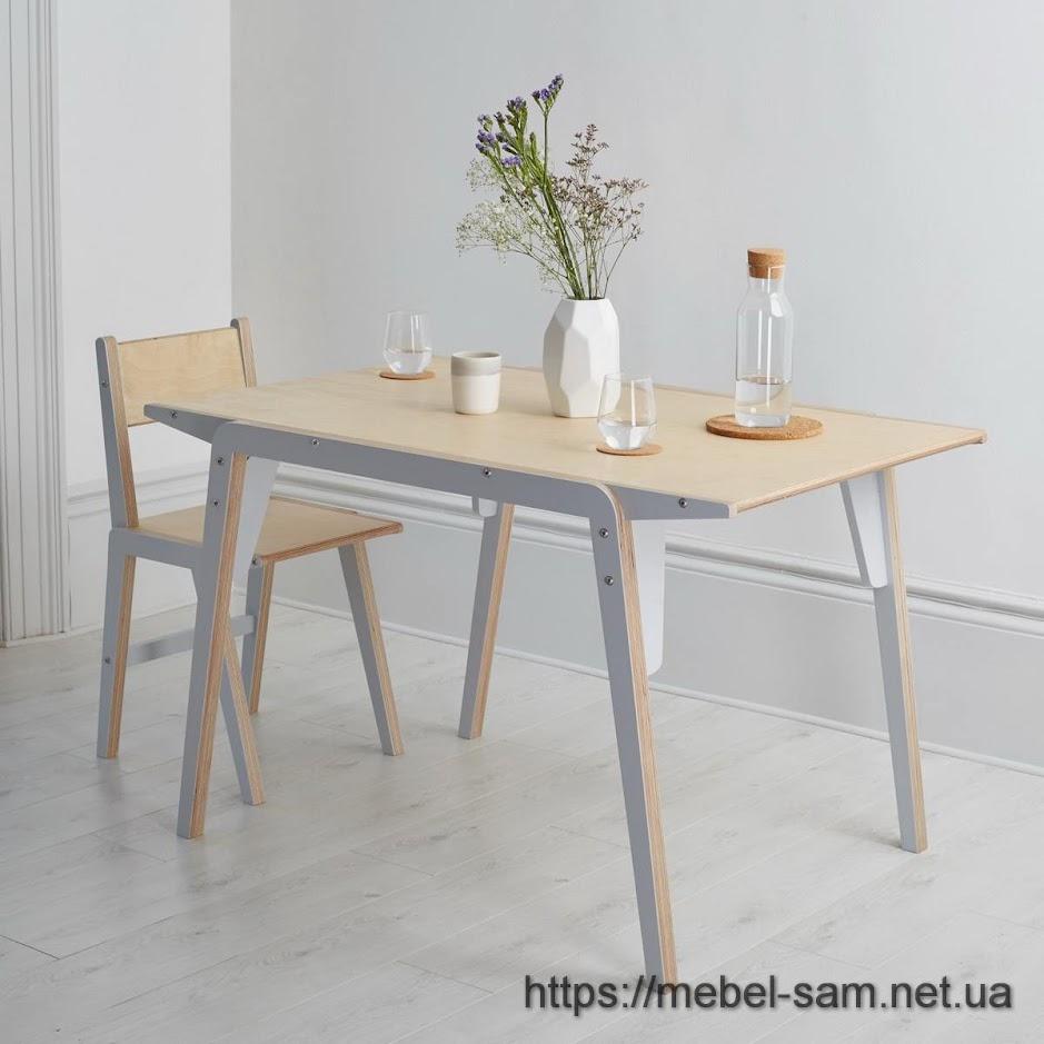 стол из фанеры другой конструкции