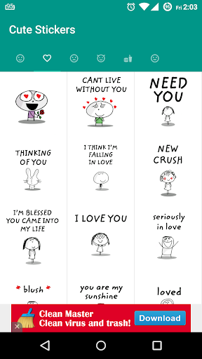 Stickers for whatsapp 3.10 screenshots 2