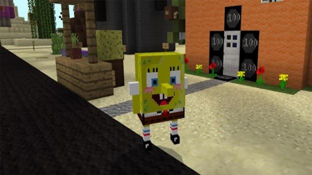 Spongebob Mod for MC PE