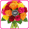 Beautiful Bouquets of Flower and Roses gif icon