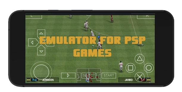 Emulator for PSP Games screenshot