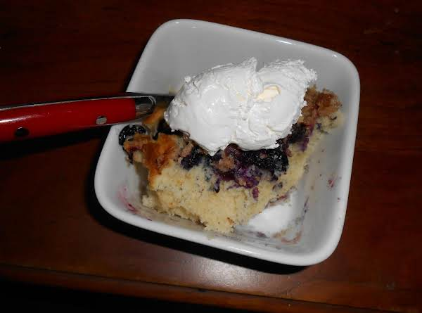 Mom's Blueberry Buckle