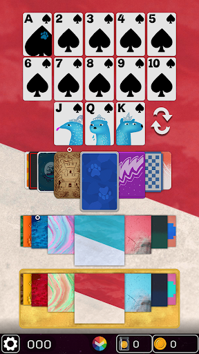 FLICK SOLITAIRE - FLICKING GREAT NEW CARD GAME android2mod screenshots 6