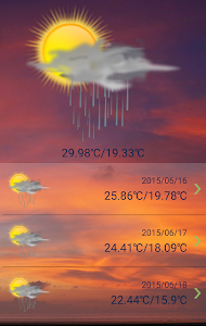 Weather Report Free screenshot 2