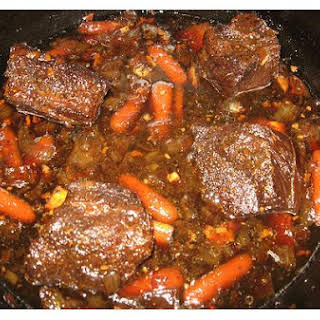 Braised Beef Short Ribs.