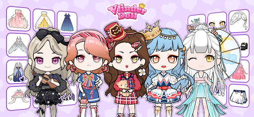 Vlinder Doll - Dress up Games , Avatar Creator 2.0.2 screenshots 1