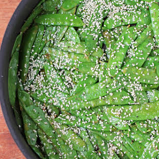 Lemon Sesame Snow Peas.
