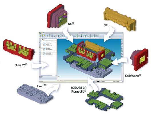 WORKXPLORE - просмотр и анализ 3D CAD файлов