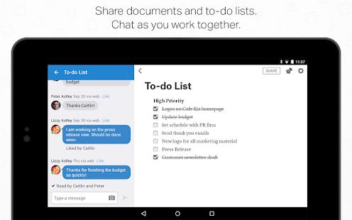 Quip: Docs, Chat, Spreadsheets- screenshot thumbnail