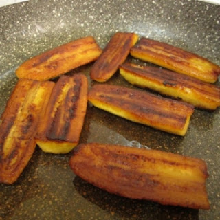 Caramelized Ripe Plantains Without Added Sugar.