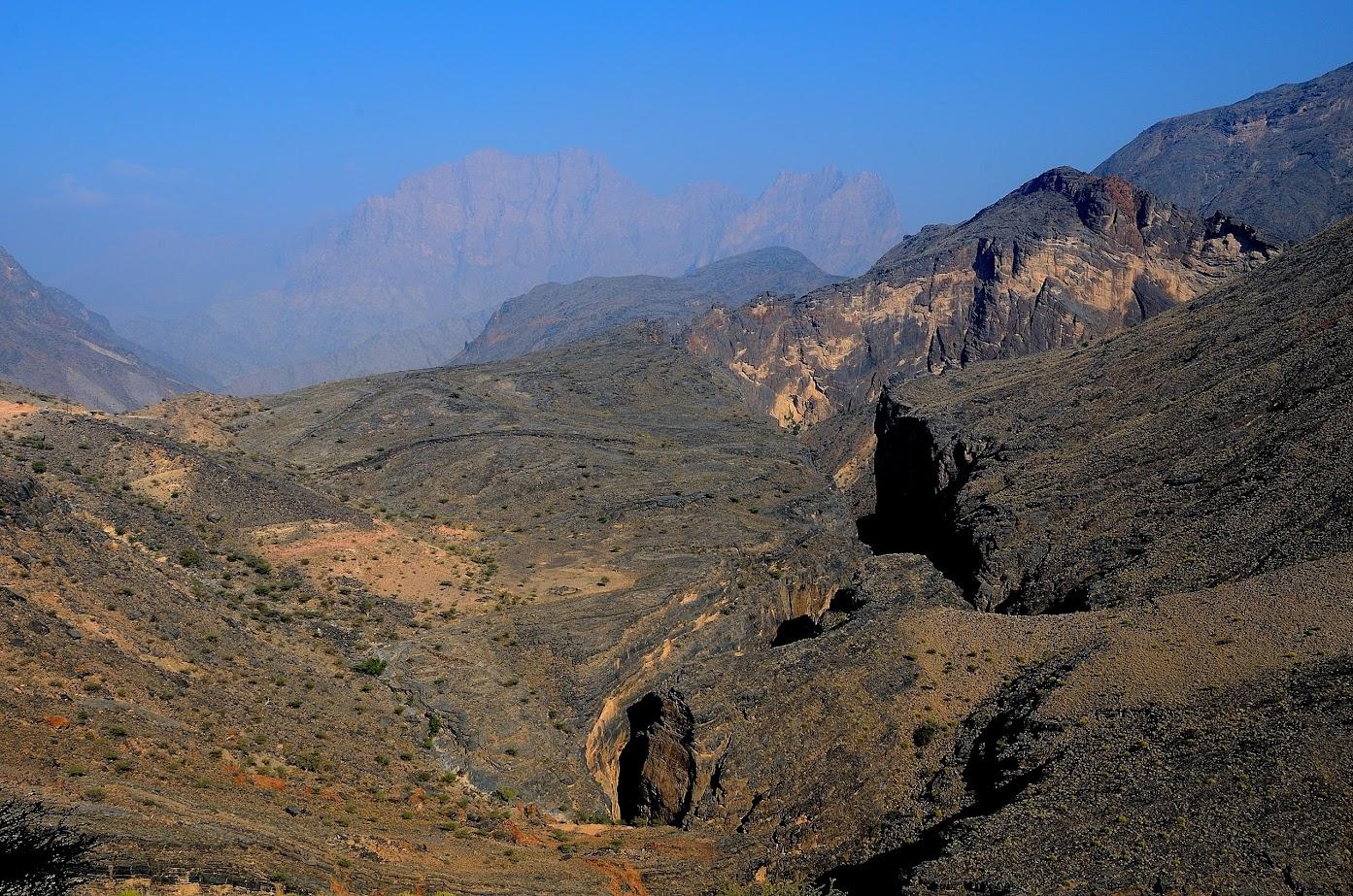 Snake tarpeklis - Wadi Bani Awf