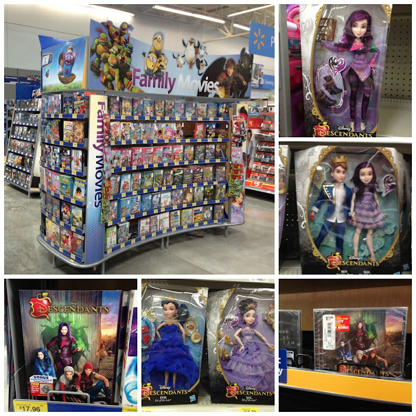 Disney Descendants DVD, Soundtrack & Fashion Dolls at Walmart