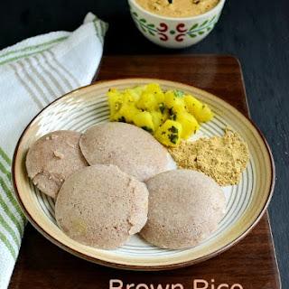Brown Rice Ragi Idly - Diabetic Friendly Recipes !