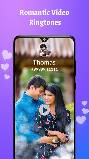 love video ringtone for incoming call screenshot 1