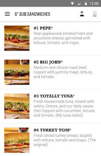 Jimmy John's Sandwiches- screenshot thumbnail