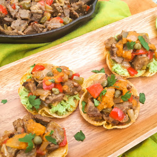 Steak Tortilla Cups.