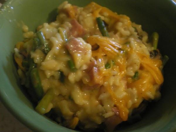Country Ham And Rice Casserole Recipe