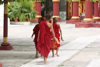 Photo: Year 2 Day 55 -   Novice Monks at Kuthodaw Paya