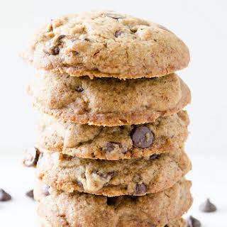 Buckwheat Chocolate Chip Cookies (Gluten Free).