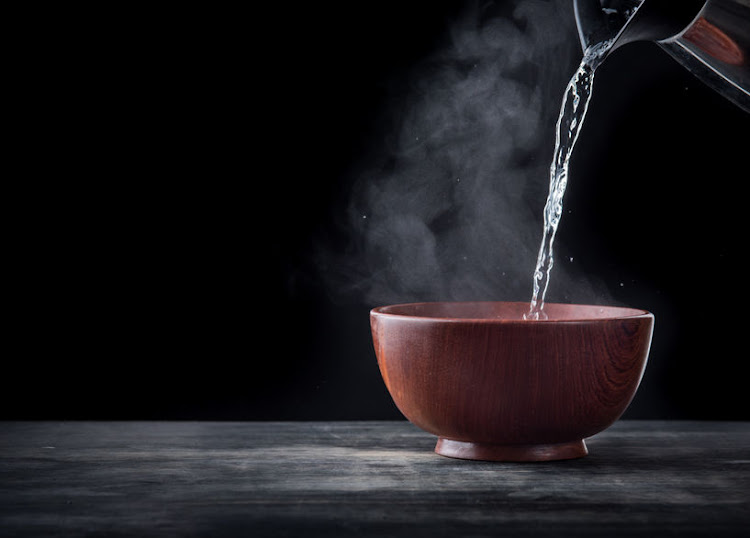 A vagina 'facial' involves sitting over a bowl of steaming water, which may be infused with herbs