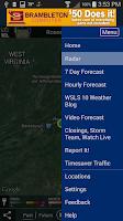 Screenshot of WSLS Weather