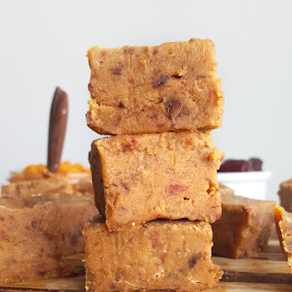Vegan Pumpkin Pie Fudge