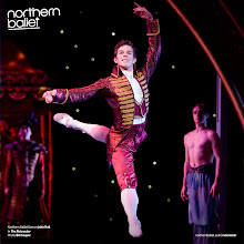 Photo: Northern Ballet dancer John Hull in The Nutcracker. Photo Bill Cooper. http://northernballet.com/index.php?q=the-nutcracker