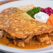 Potato Pancake Hungarian Style