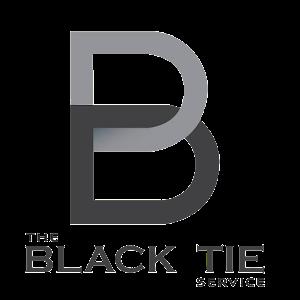 Black Tie Service Logo