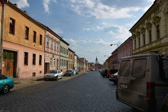 Photo: Docieram do miasta Pisek.