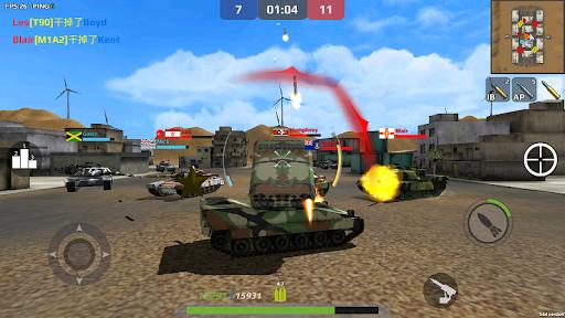 Armored War - Global PVP 2.0.38 screenshots 2