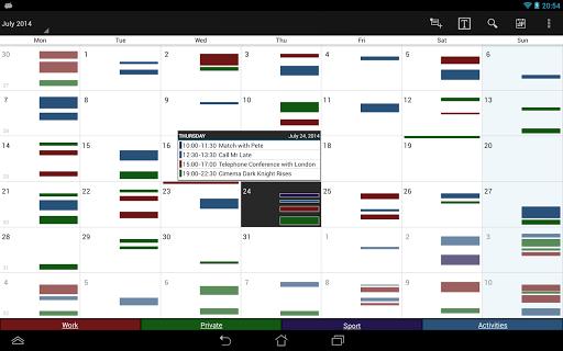 Business Calendar Beta screenshot 9
