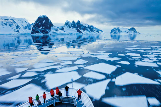 Get incredible views of ice floes in the Lemaire Channel of Antarctica during a Lindblad expedition on National Geographic Explorer.