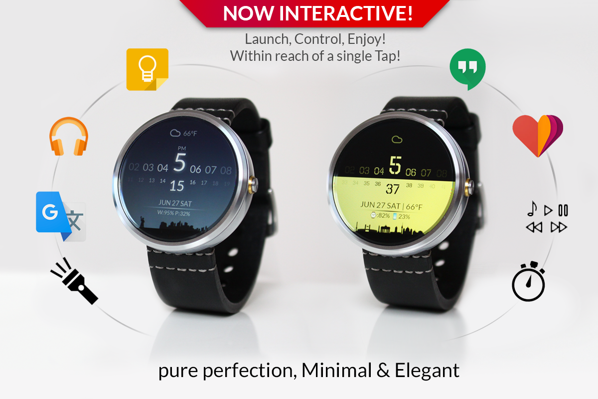 Watch Face Minimal Amp Elegant Android Apps On Google Play