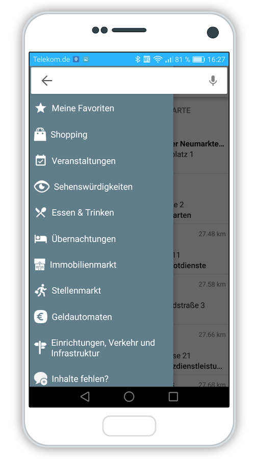 Neumarkt Regional – Screenshot