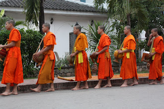 Photo: Day 271 - More Monks Arriving