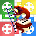 Ludo with Snakes and Ladders Board Game Free icon