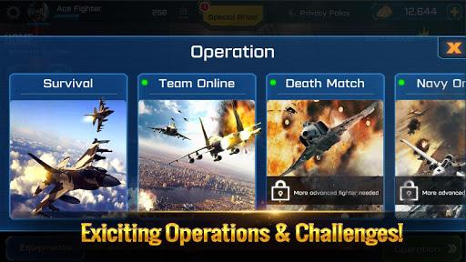 Ace Fighter: Modern Air Combat Jet Warplanes  screenshots 23