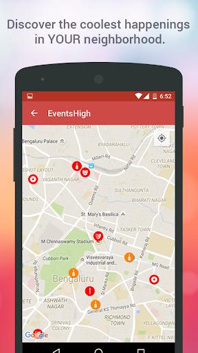 Events High - Meet Your City! screenshot