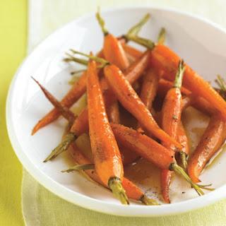 Orange-Roasted Baby Carrots with Honey