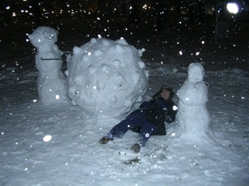 Katamari snowman