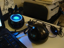 USB Rats Speakers i-mice