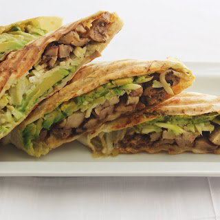 Jerk Chicken Wrap.