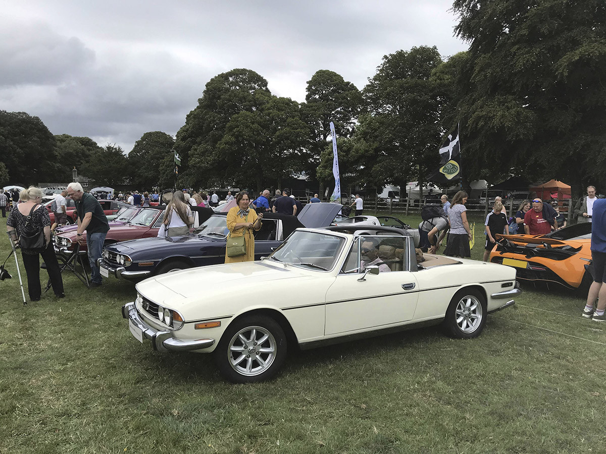 Triumph Stag Hire Plymouth