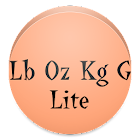 Pound Ounce Kilogram Gram Lite icon